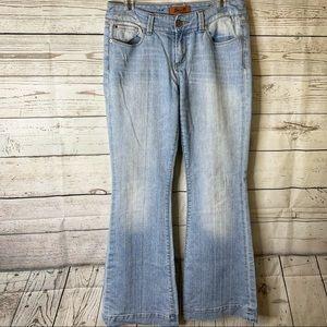 Seven 7 Sexy Flare Leg Stretch Women Jeans…